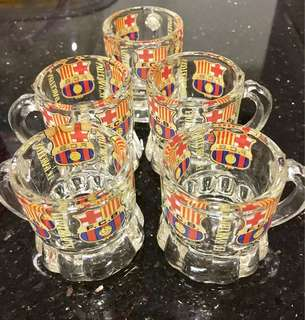 FB Barcelona (FCB) Shot Glasses