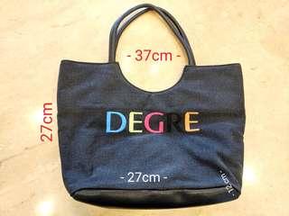 Light weight denim Degre Bag