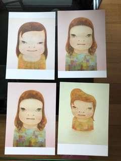 Nara Yoshitomo post cards