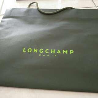 Longchamp Paper Bag (42cm x 35cm x 13cm)