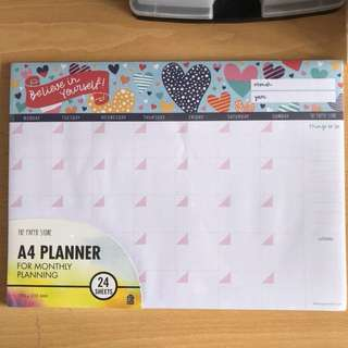 The Paper Stone Monthly Planner