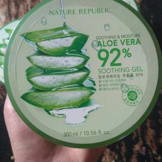 Aloe vera nature republic shooting gel 300mL