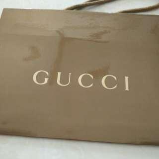 Gucci Paper Bag (23cm x 17cm x 8cm)