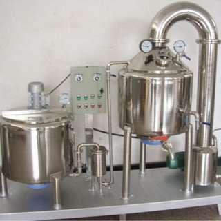 Vacuum honey enrichment machine medicine