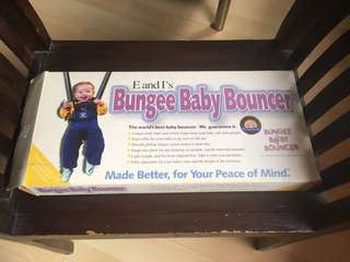 Bungee Baby Bouncer NEW!