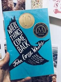 Where Things Come Back | John Corey Whaley