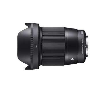 Sigma 16mm F1.4 (Contemporary) (Sony E mount)