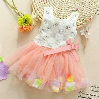 Rainbow Flower Dress