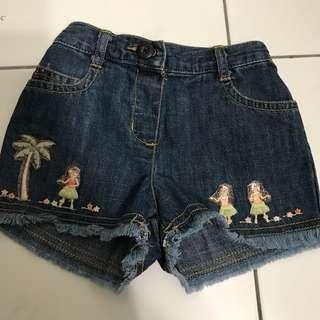 Gymboree girl jeans short pants