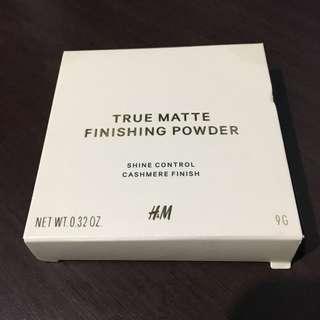 H&M True Matte Finishing Powder