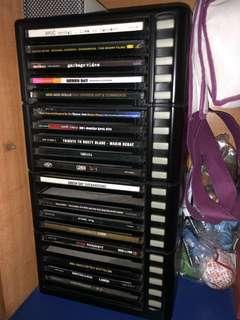 Vintage 20 Discs Holder