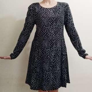 Classy Polka Dress Corporate Formal