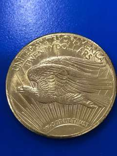 1928 United States $20 St Gaudens Gold coin
