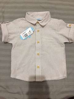 Baby boy button down shirt