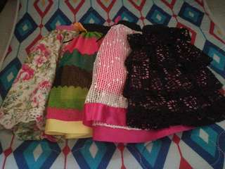 Assorted Skirts fo 3-5 y/o Girls