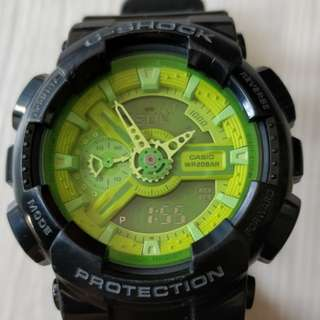 G-shock GA-110B 原裝正版 casio 手錶