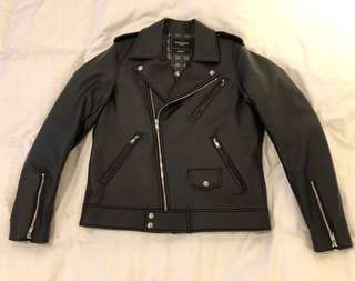 (減價!) Mastermind Homme X A-Girl's 15AW Leather Jacket 皮䄛 外套 ( Not Supreme Bape )