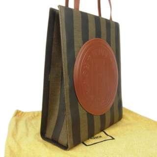 Vintage FENDI Tote Shoulder Bag