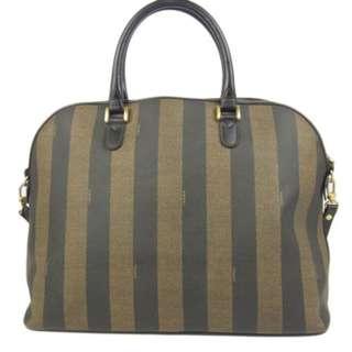 Vintage FENDI 2-Way Shoulder Hand Bag