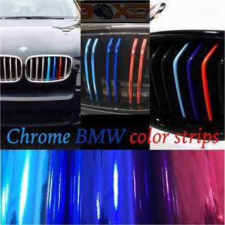 Chrome BMW color strips