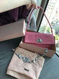 Miu miu should bag handbag