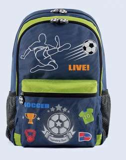 Authentic dr kong Soccer design M size bag