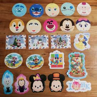 迪士尼貼紙 Disneyland stickers