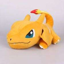 Pokemon sun and moon original rolling charizard plush Japan original with tags sealed in plastic wrapping official