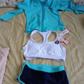 3pcs Swimwear Size M