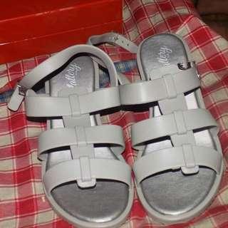 Celine bnew gray sandals