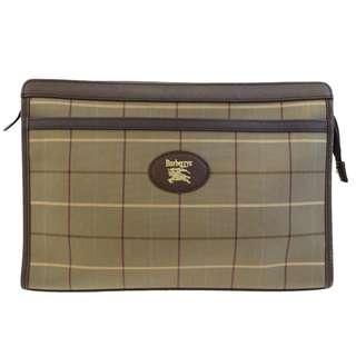[預訂]Vintage BURBERRYS Clutch Hand Bag