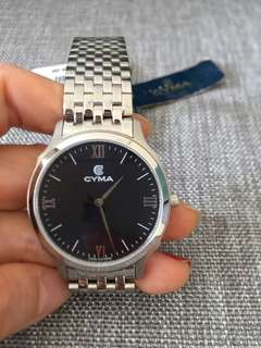 CYMA men's watch, authentic brand new