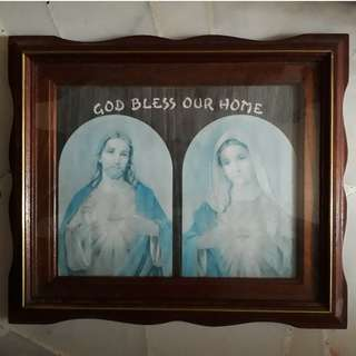 God Bless Our Home with Frame