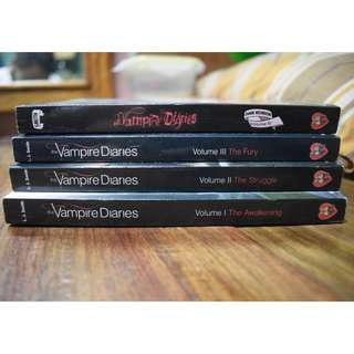 VAMPIRE DIARIES SET (Volume 1-4)
