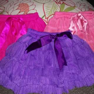 Pre-loved: Tutu Skirts (3-pc set)