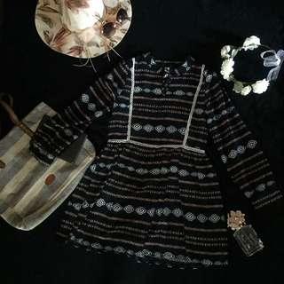 Aztec Doll Dress