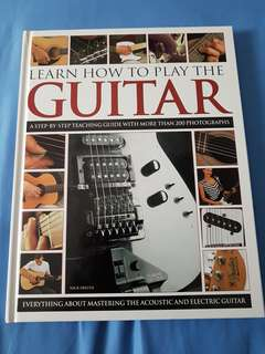 Learn How To Play The Guitar by Nick Freeth