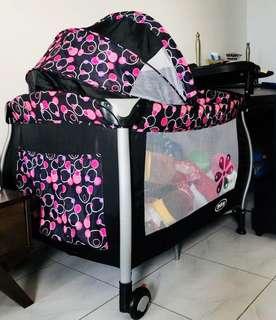 Baby girl net bed
