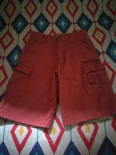 Maroon Walking Shorts for 7-9 y/o Boys