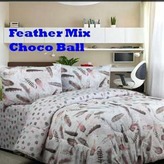 Feather mix choco ball katun cvc