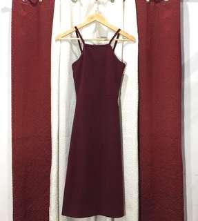Halter Midi Dress