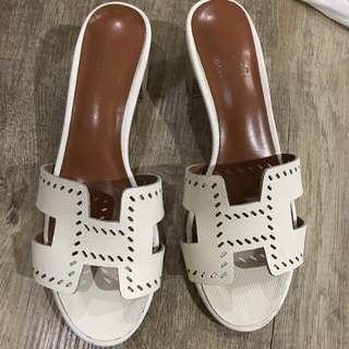 Hermes oasis sandal 38
