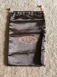 Tods Shoe Bag - satin