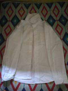 White Long Sleeves Shirt for 7-9 y/o Boys