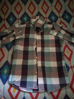 Old Navy Checkered Long Sleeves for 7-9 y/o Boys