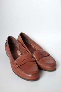 Bass brown leather shoes