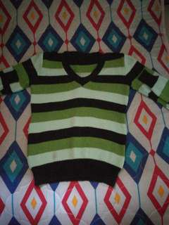 Long Sleeves Knitted Top for 7-9 y/o Boys