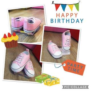 BB初生嬰兒防滑學行鞋仔學步鞋波鞋布鞋