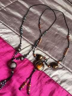 2 pieces necklace