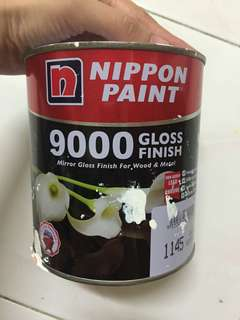 White paint for metal and wood